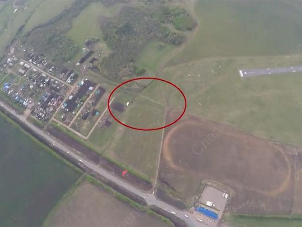 СК показал видео смертельного прыжка парашютистов в Татарстане