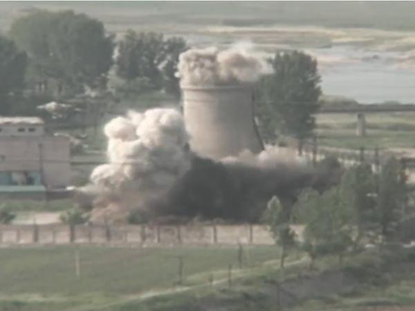 В Северной Корее показательно демонтировали ядерный полигон