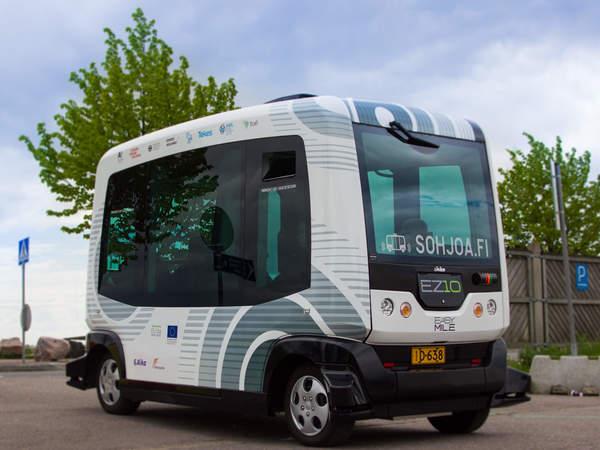 На улицы Хельсинки выходят беспилотные автобусы