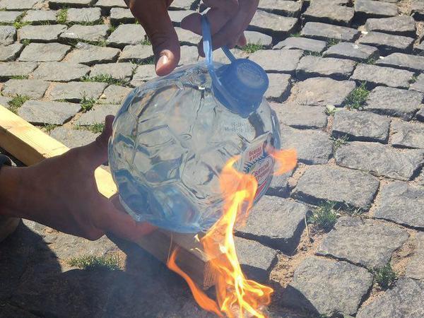 «Святой источник» огня