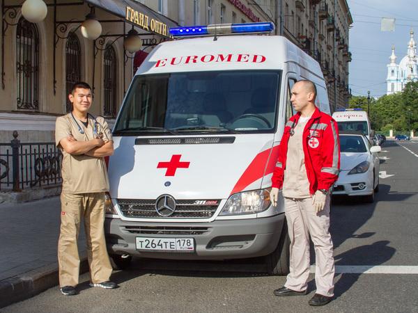 Бегунов и велосипедистов ЗСД-феста будут сопровождать врачи Euromed Express