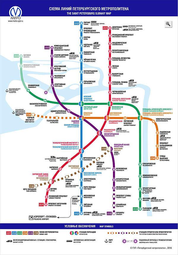 метро спб картинка схема некоторых случаях