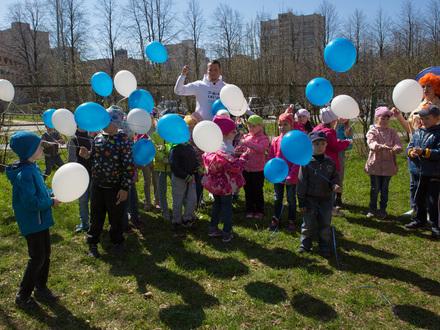 Форвард «Зенита» стал воспитателем в детском саду
