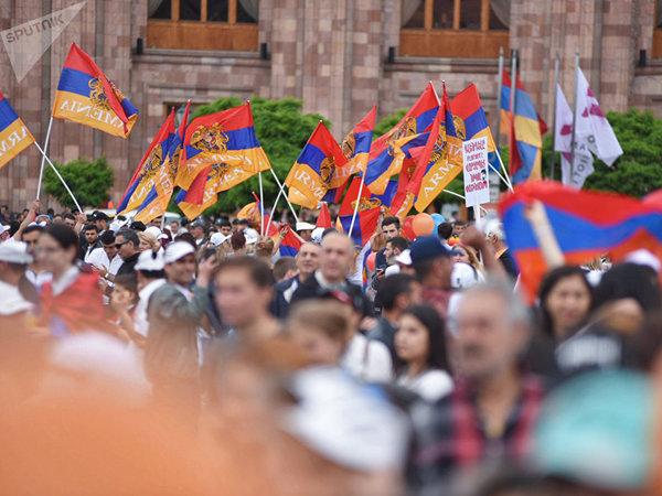 Ереван стал пешеходным после назначения Пашиняна