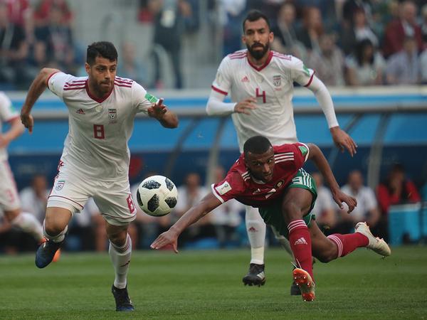 Иран выиграл благодаря автоголу марокканского нападающего на арене «Санкт-Петербург»