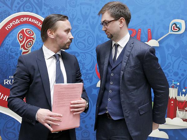 Андрей Мушкарёв и Евгений Панкевич, фото -  Александр Николаев/Интерпресс