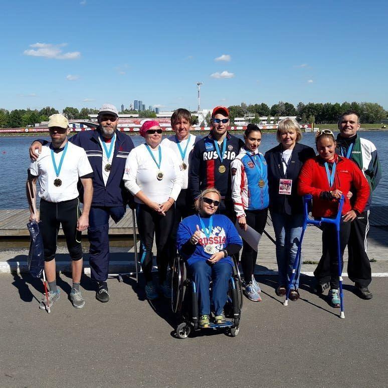 Петербургские гребцы с инвалидностью стали абсолютными победителями «Большой Московской регаты» (Иллюстрация 1 из 1) (Фото: БФ
