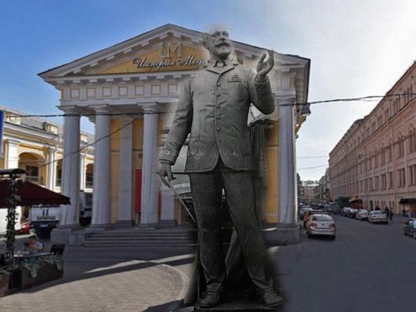 Метрополитену угрожает многотонный Чайковский. Кто хочет поставить на Невском четырехметровую скульптуру