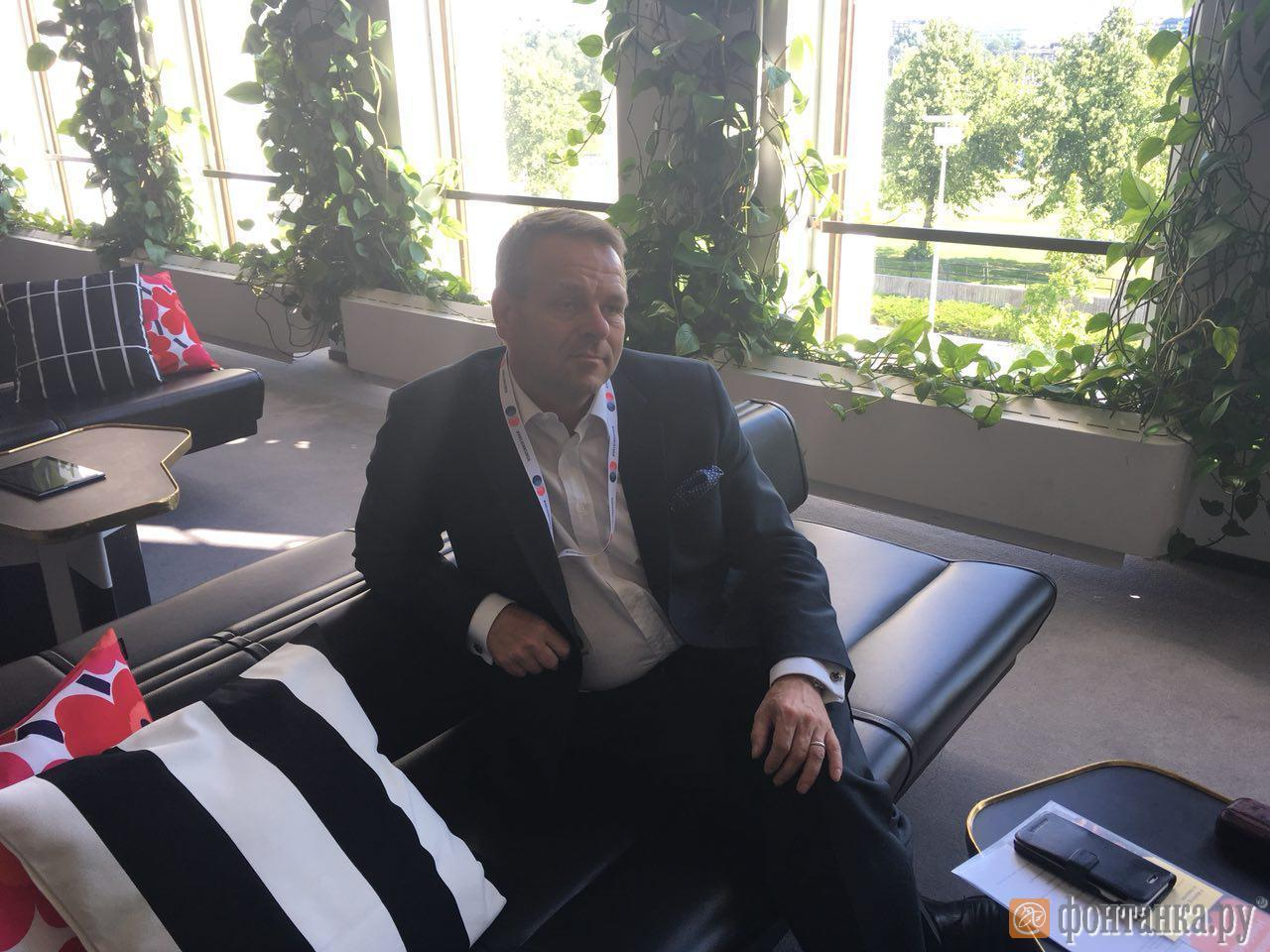 Мэр Хельсинки Ян Вапаавуори.