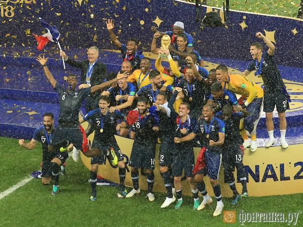 Как Франция и Хорватия сыграли один из самых сумасшедших финалов чемпионатов мира в истории