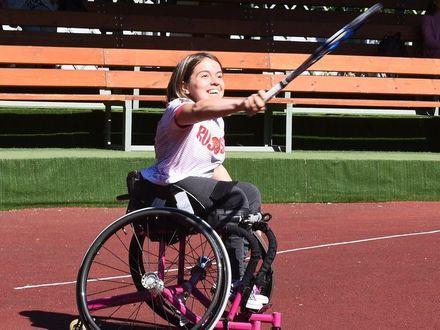 Поможем Полине Шакировой удержать позиции в мировом рейтинге среди теннисистов на колясках