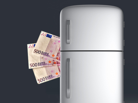 Квартирка на миллиард. Диван с деньгами сменил холодильник