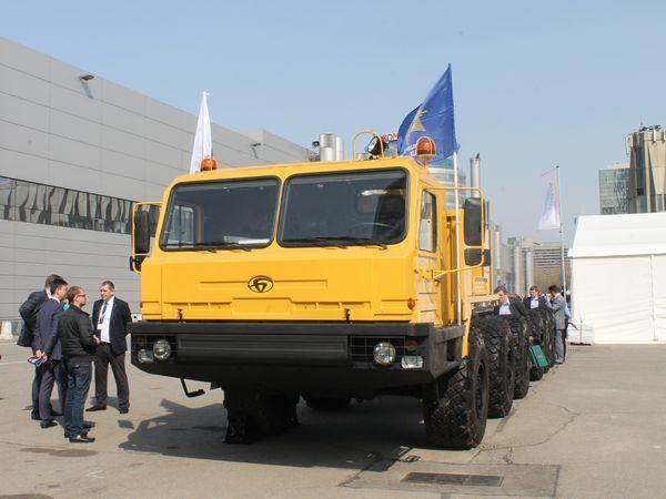 Концерн ВКО «Алмаз – Антей» поставит колесные шасси «БАЗ» нефтяникам