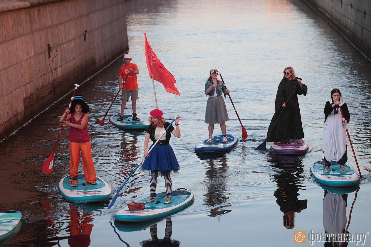 Фестиваль «Фонтанка-SUP» в прямом эфире (Иллюстрация 3 из 45) (Фото: