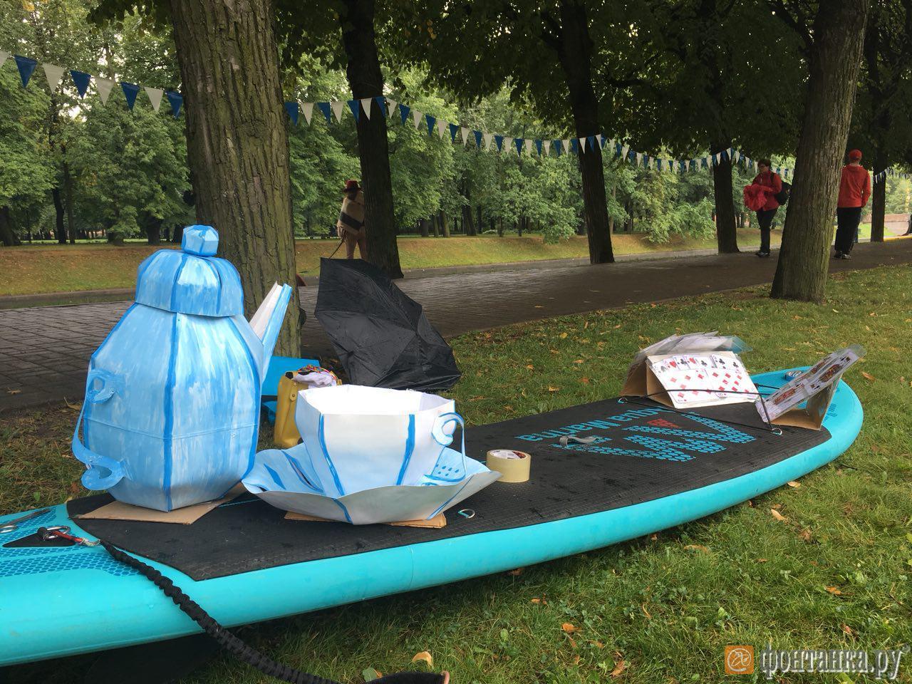 Фестиваль «Фонтанка-SUP» в прямом эфире (Иллюстрация 8 из 45) (Фото: Елена Ваганова)