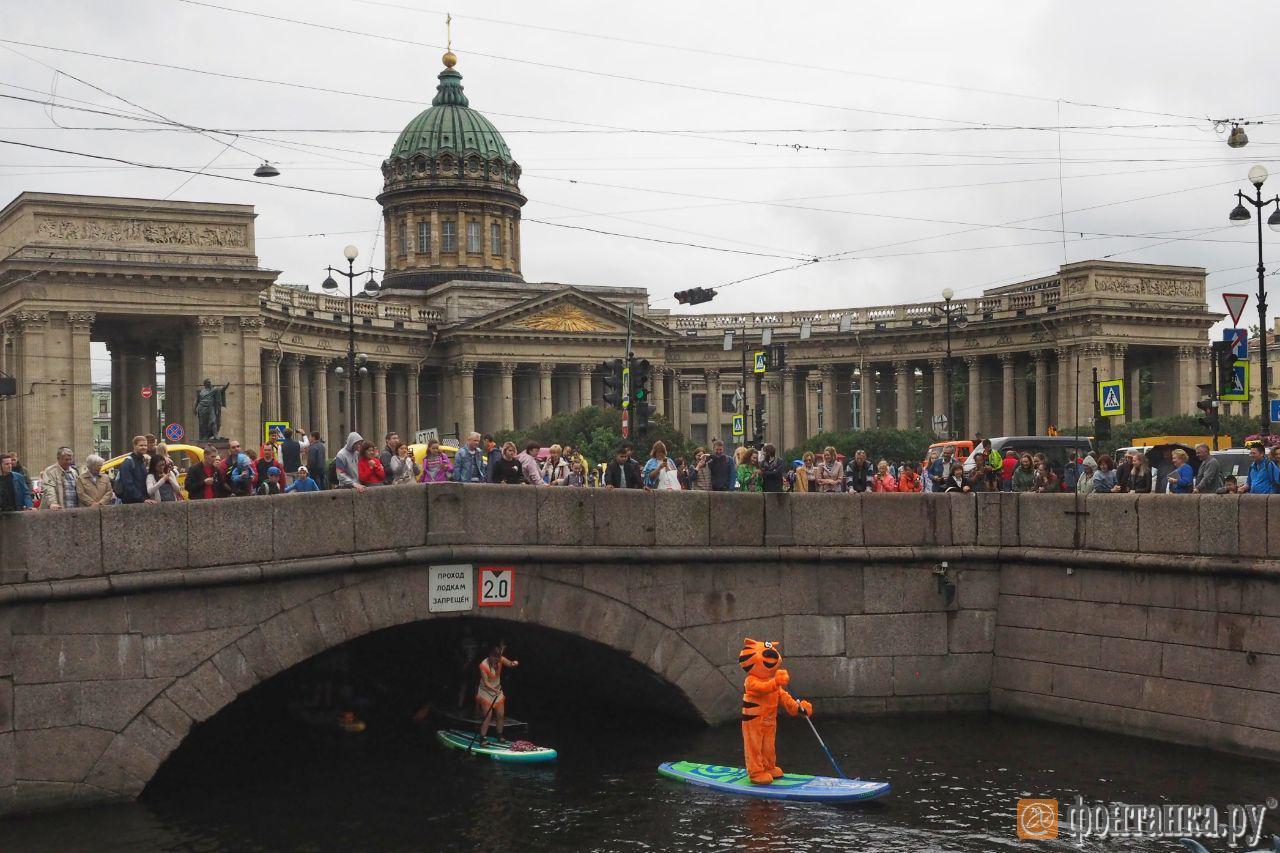 Фестиваль «Фонтанка-SUP» в прямом эфире (Иллюстрация 31 из 45) (Фото: Михаил Огнев)