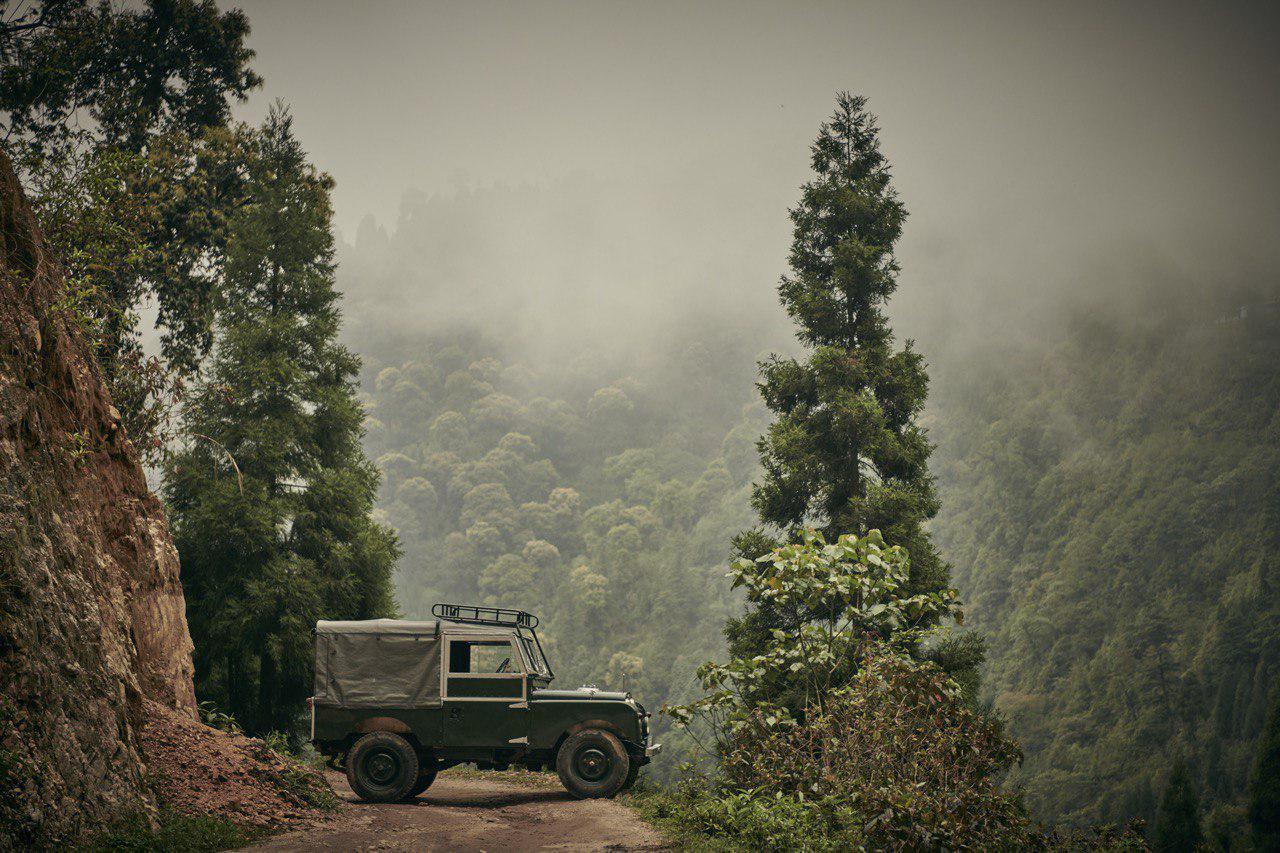 Первая серия Land Rover. Гималаи
