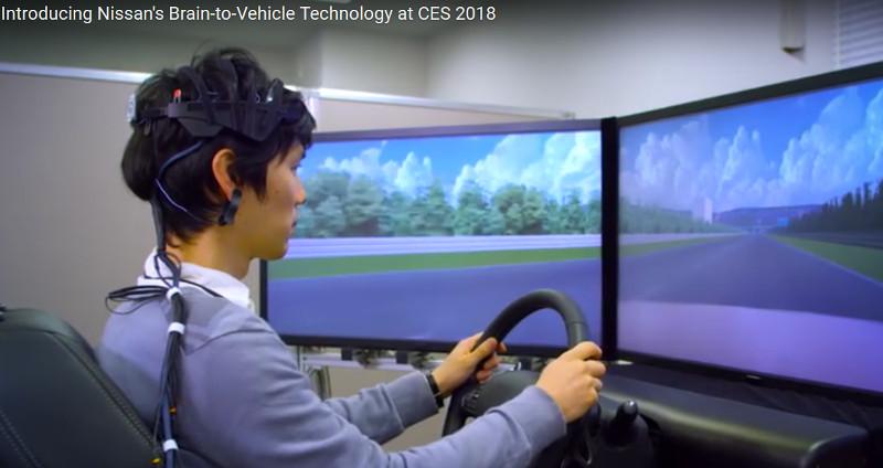 Кадр из видео на YouTube-канале Nissan