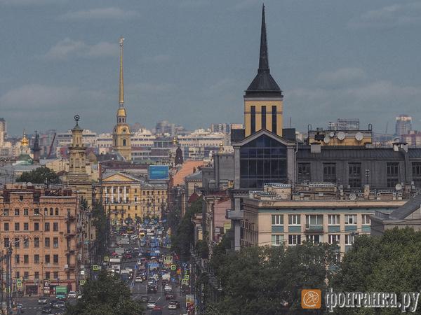 Московские ворота открыли впервые за 15 лет. «Фонтанка» поднялась наверх и посмотрела на город
