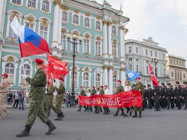 Шествие в День памяти жертв Блокады