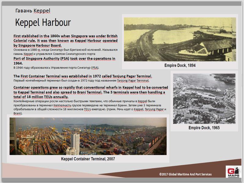 скриншот презентации/Global Maritime And Port Services