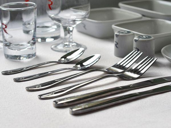 Новая коллекция посуды и столовых приборов для пассажиров класса Бизнес
