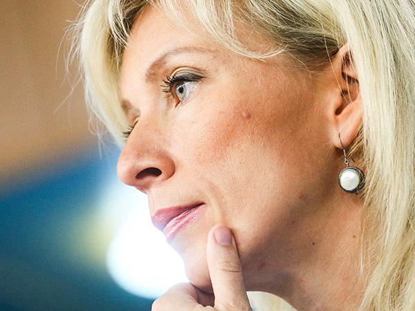 Мария Захарова, фото - Александр Щербак/ТАСС