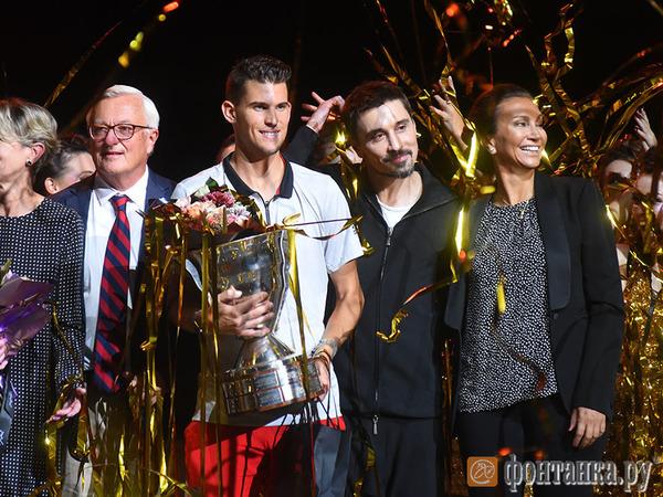 Титул чемпиона теннисного St. Petersburg Open 2018 и 13 млн рублей получил австриец Доминик Тим