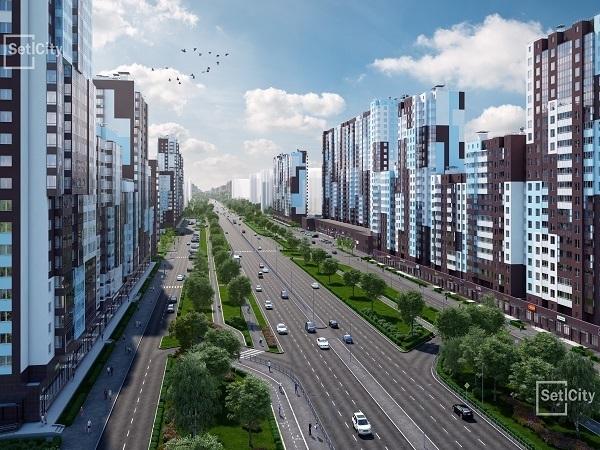 Setl City строит продолжение Комендантского проспекта