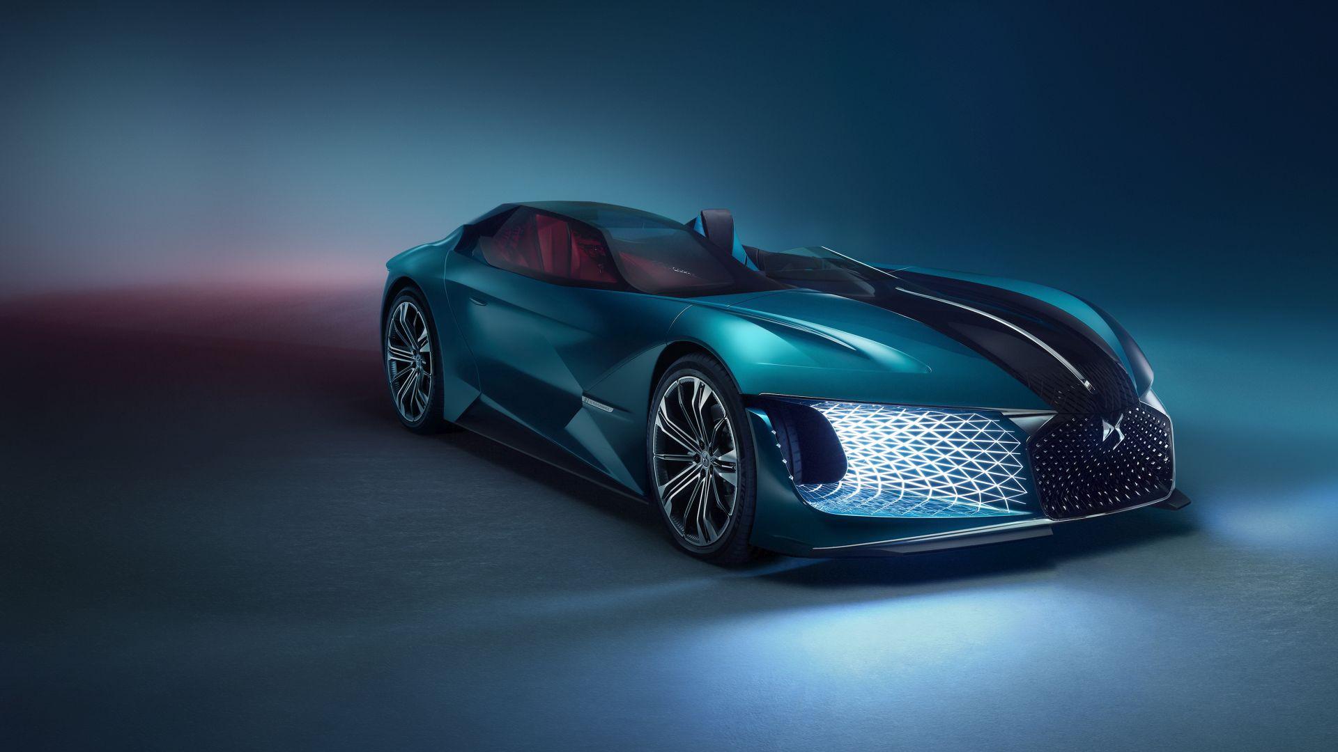 DS X E-TENSE – полностью электрический концепт-кар, который отражает видение «автомобильной роскоши» в 2035 году