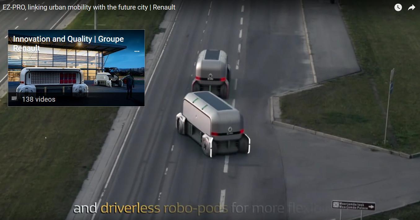 EZ-Pro. Кадр из видео на YouTube-канале Renault