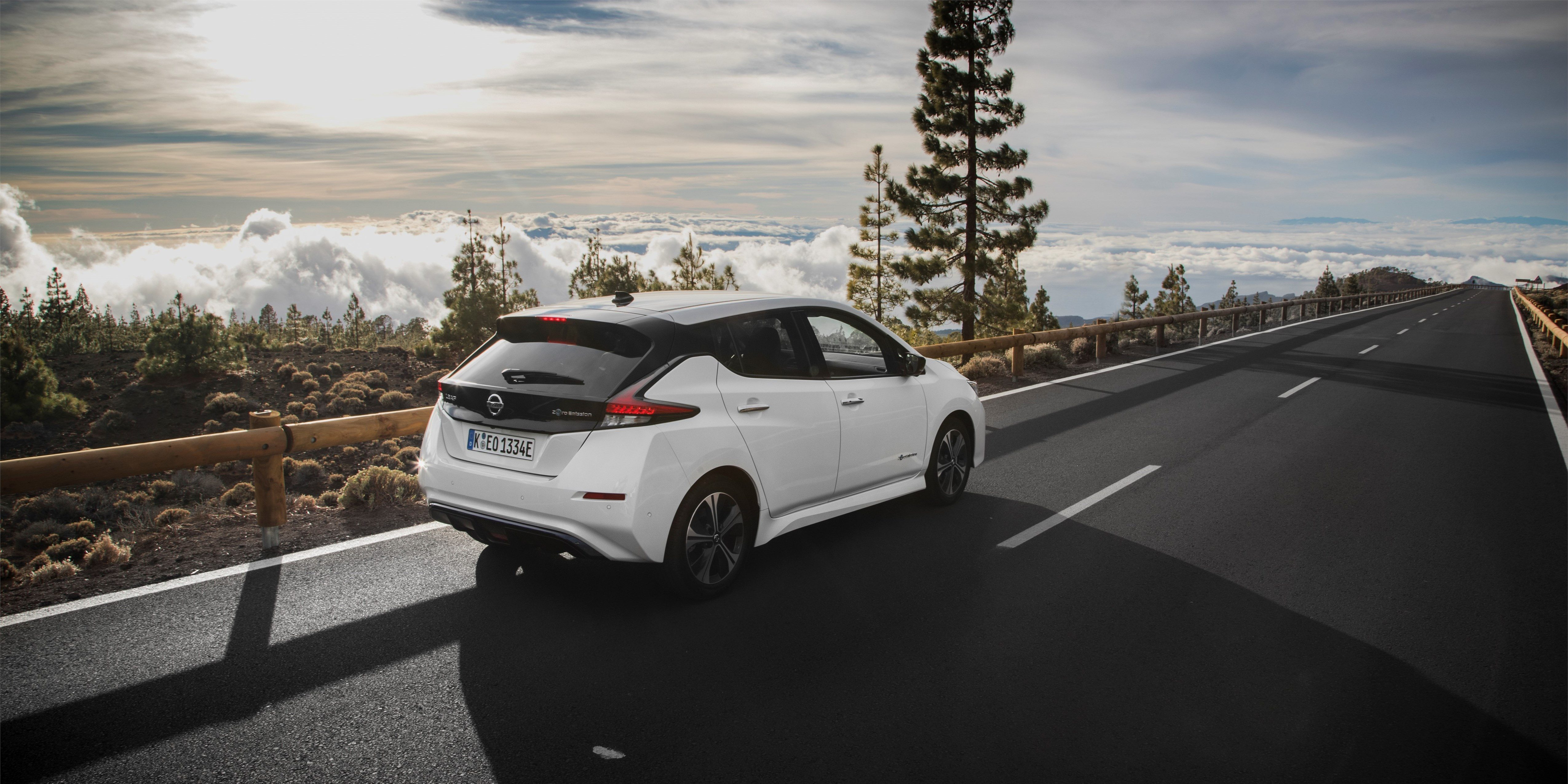 Nissan Leaf 2019 with 60 kWh battery pack