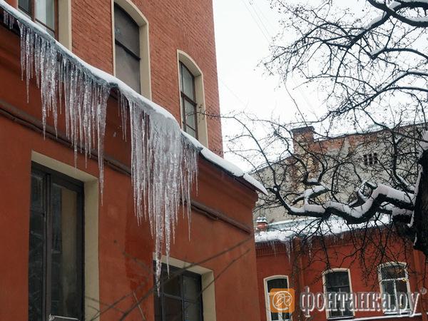 """""""Фонтанка"""" собирает снежную карту и ищет самую большую сосульку и самый высокий сугроб"""