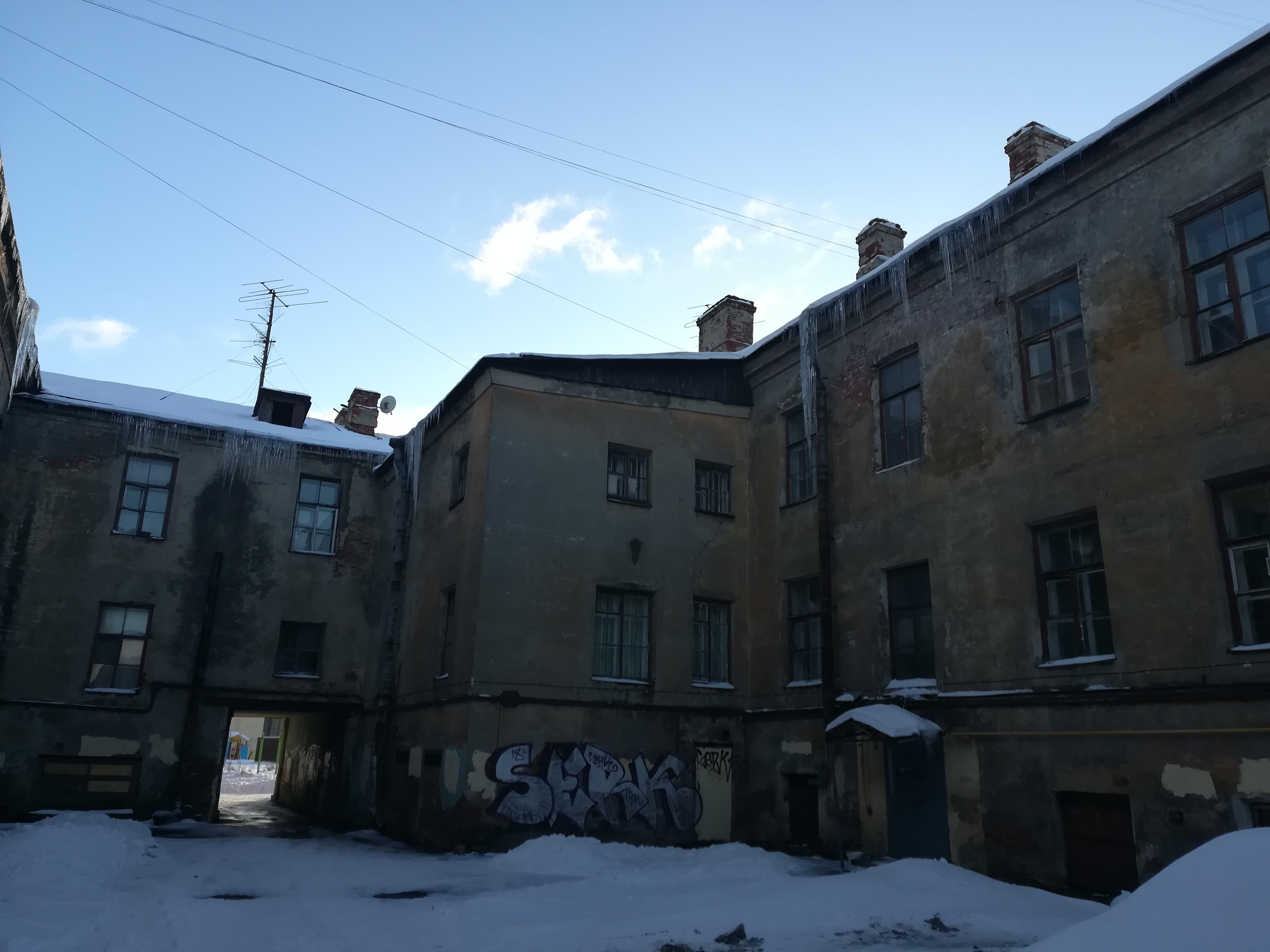 Набережная реки Фонтанки дом 90 корпус 5,внутренний двор
