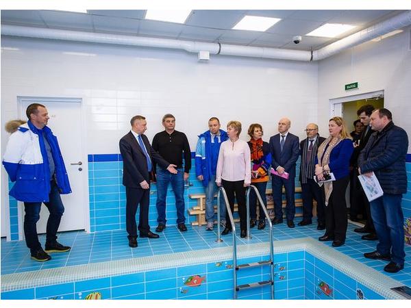 Врио Губернатора Александр Беглов посетил новые детские сады от Группы «Эталон»