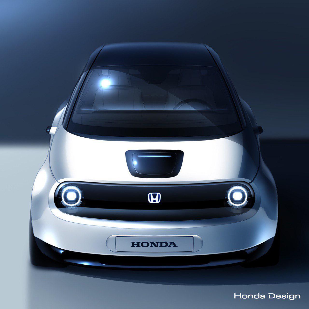 Опубликованное 23 января изображение предсерийного прототипа Honda Urban EV