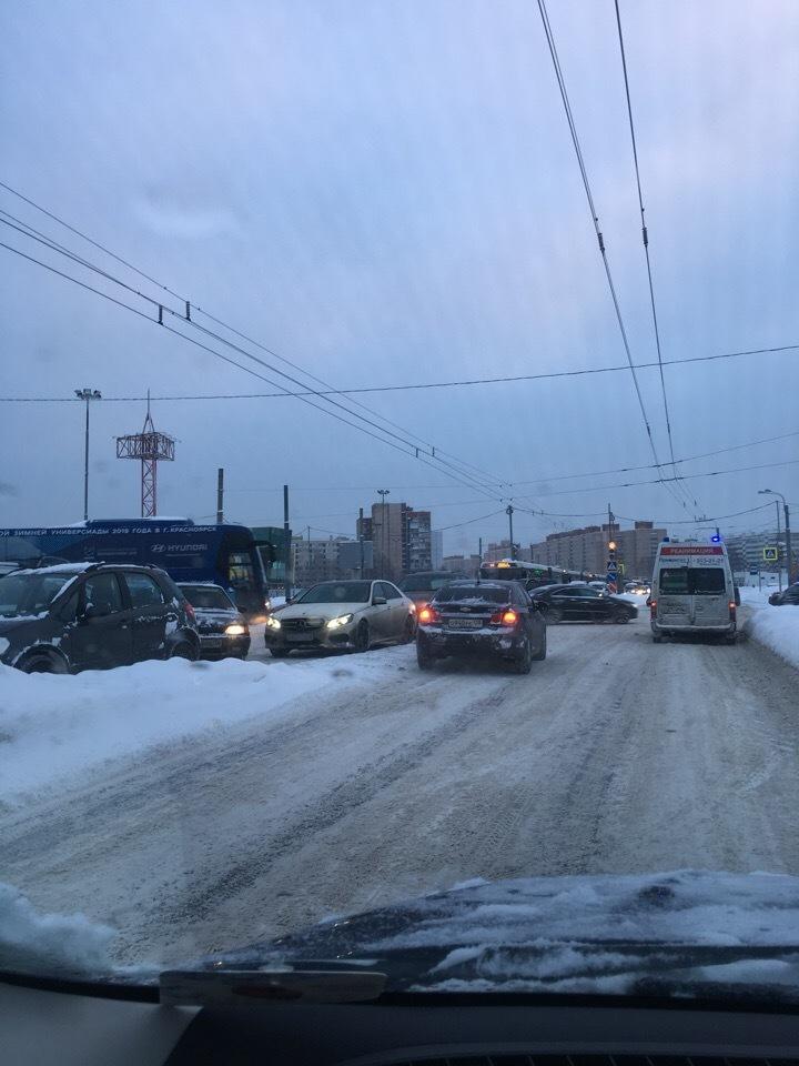 ДТП на Богатырском проспекте