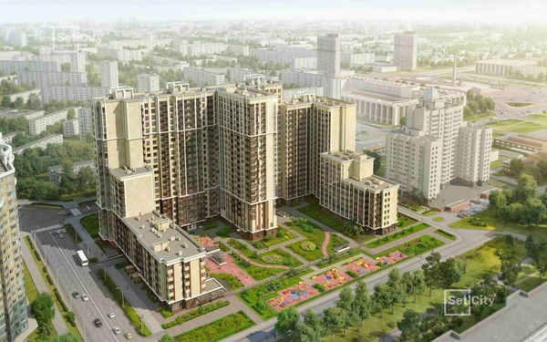 Жилой комплекс «Москва». Фото предоставлено компанией «Петербургская Недвижимость»