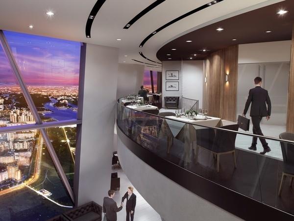 Создатель ресторана на 76-м этаже «Лахта Центра» рассказал о ценах и дате открытия