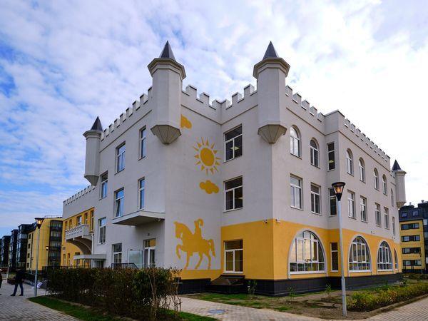 Детский сад-замок в Юттери признан одним из лучших соцобъектов Петербурга