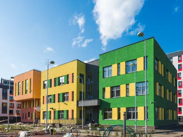 Детский сад в жилом квартале «Янила» готов к вводу на 99%