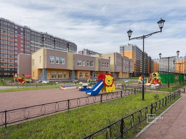 Setl Group строит четвертый детский сад с бассейном в ЖК «Солнечный город»