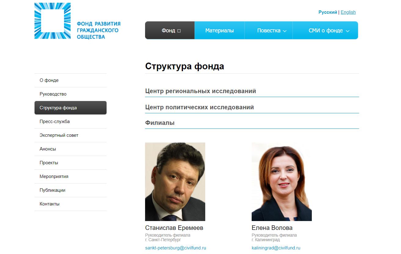 Фото - официальный сайт Фонда развития гражданского общества civilfund.ru