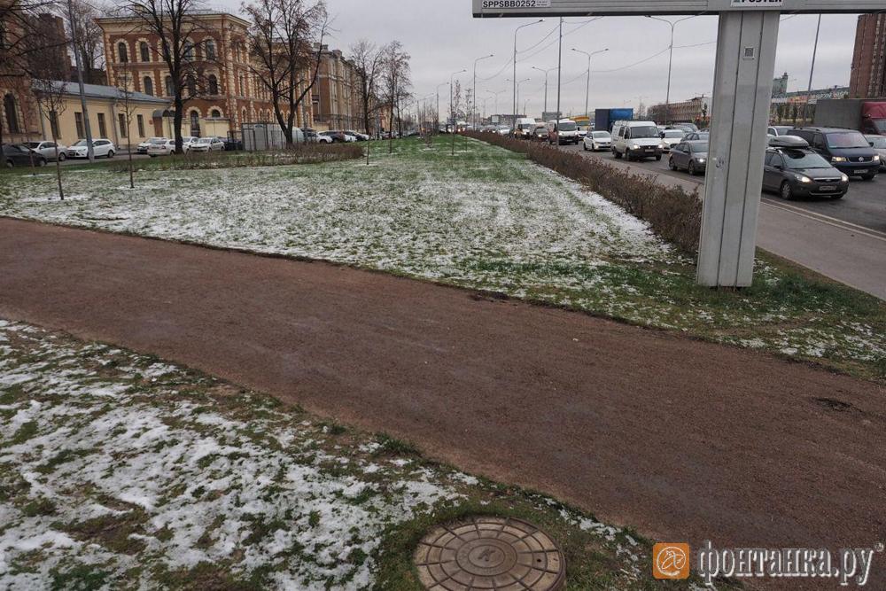 Набережная Обводного канала от Кременчугской улицы до железной дороги