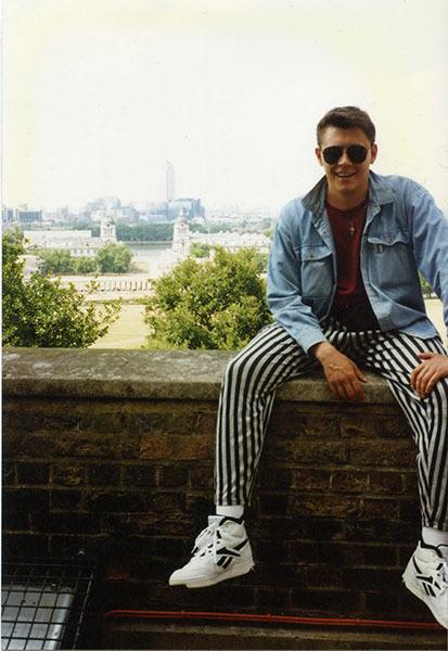 1990-е. Роман Писарев приехал покорять Лондон