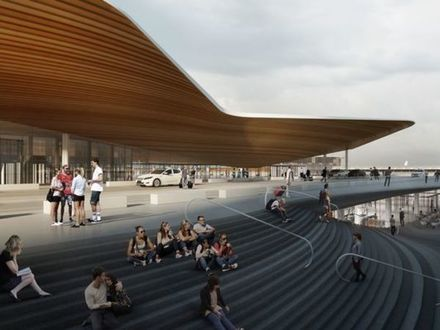 проект нового терминала аэропорта Хельинки/Finavia