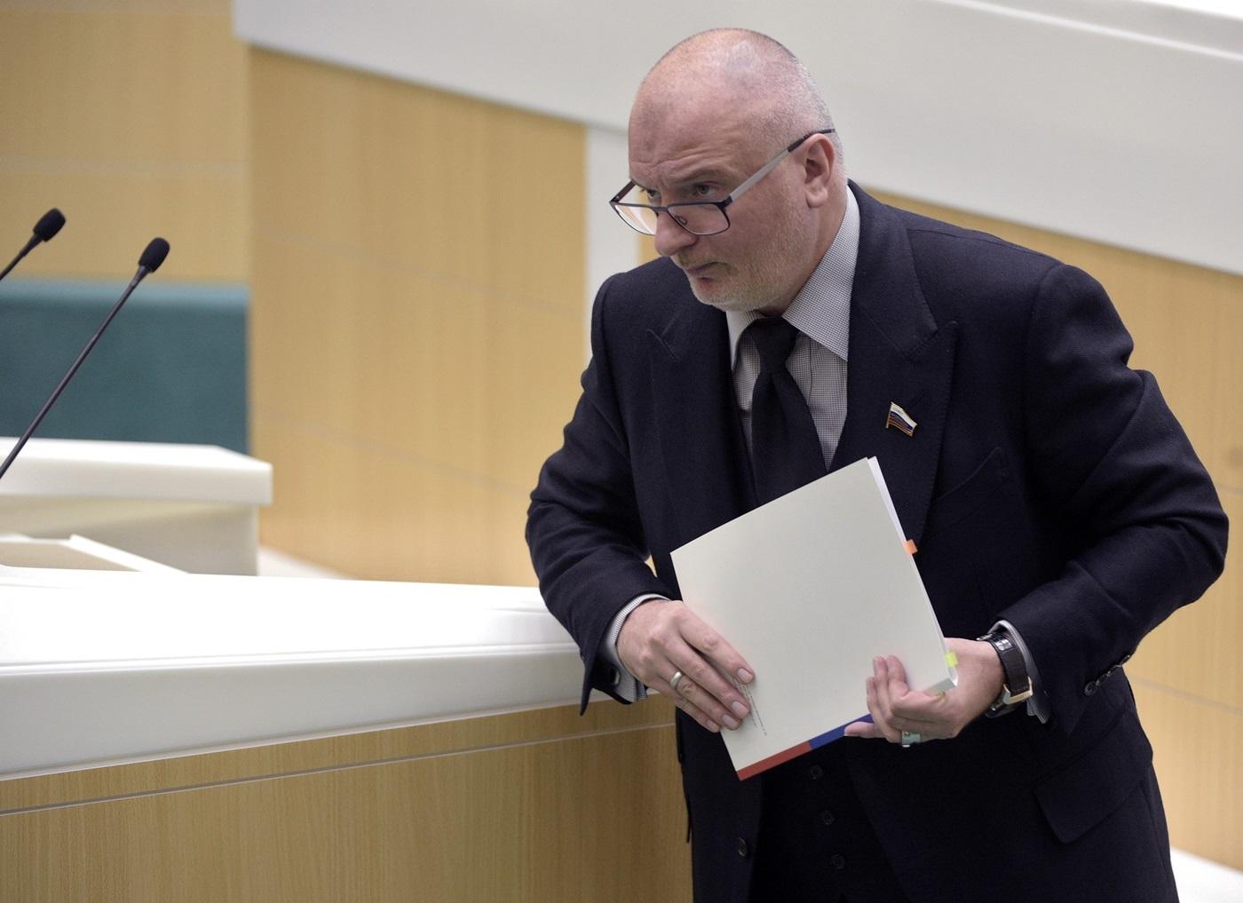Сенатор Клишас разработал новое учение о блокировках