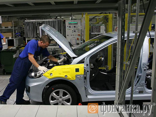Автопром тасует инвестиции. Hyundai вложит 13 млрд рублей во второй завод в Петербурге
