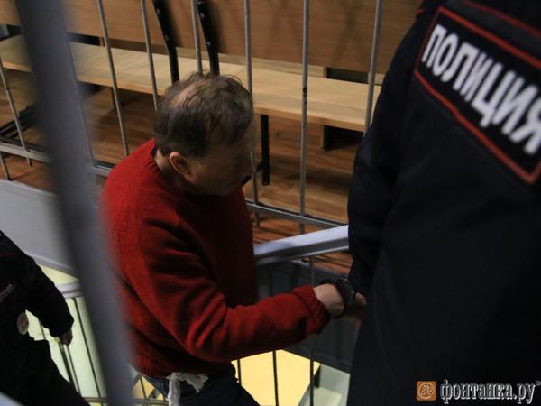 Доцента-историка Соколова доставили в суд, где ему будут избирать меру пресечения