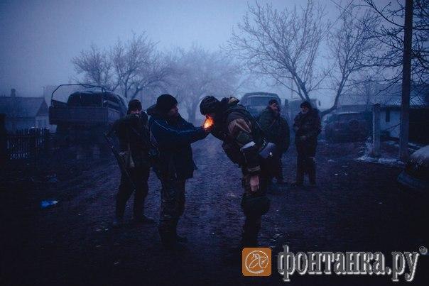 добровольцы под Углегорском